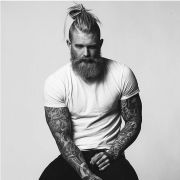 mens hairstyles and beards 2015