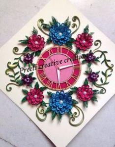 Designes for quilling clocks google search also najma pinterest rh uk