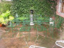 Salterini Vintage Wrought Iron Patio Furniture
