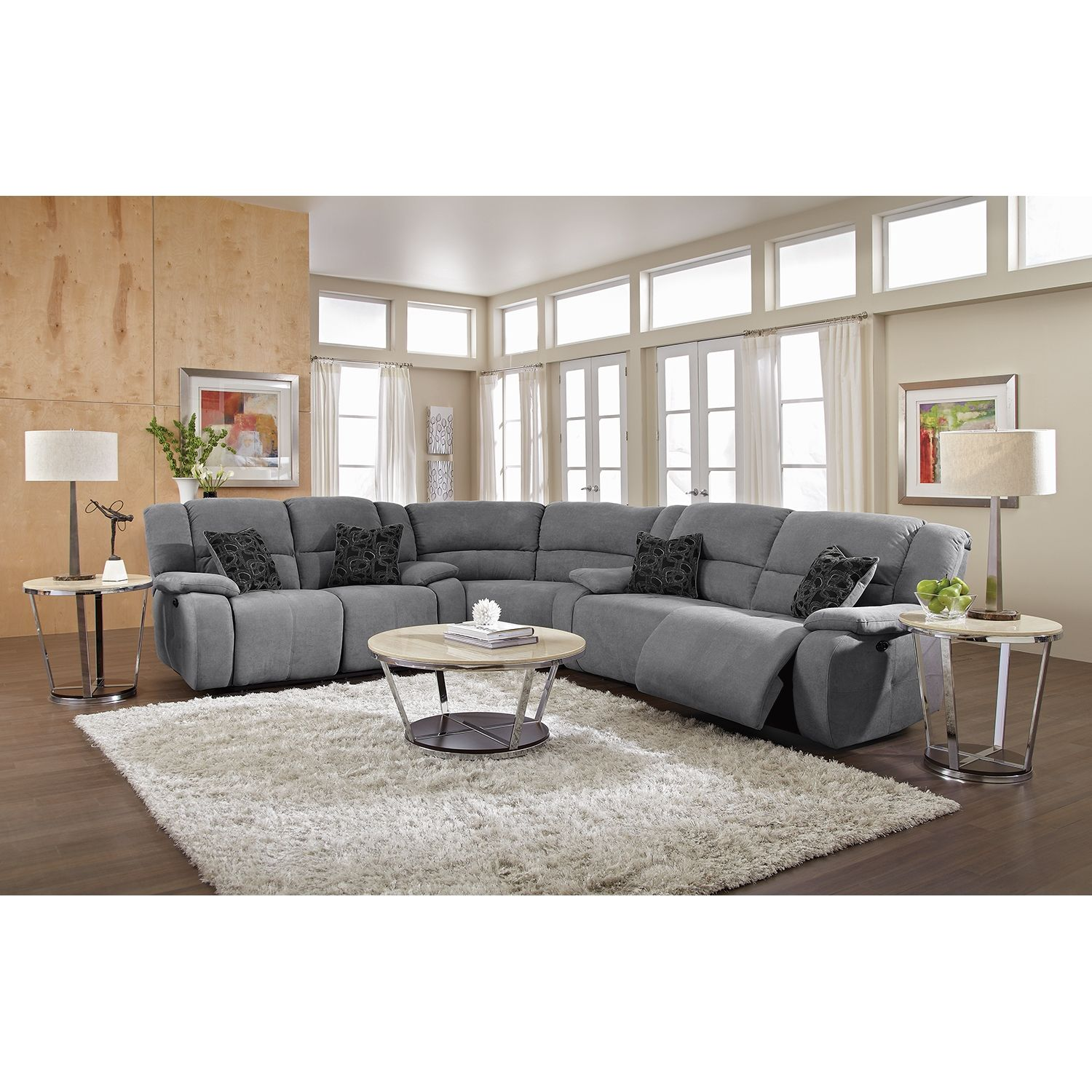 reclinable sectional sofas paris volley sofascore love this couch gray is awesome future living room