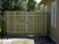 wooden fence gates designs | ... fence gate varian fence ...