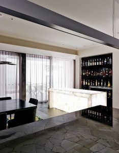 Design and style modernist house by dsid in melbourne also bar interiors rh pinterest