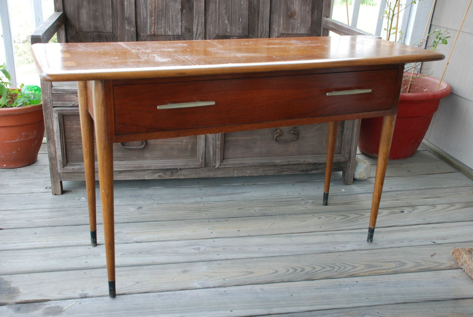 vintage lane sofa table discount reclining quotacclaim quot console by andré bus 1960 3965