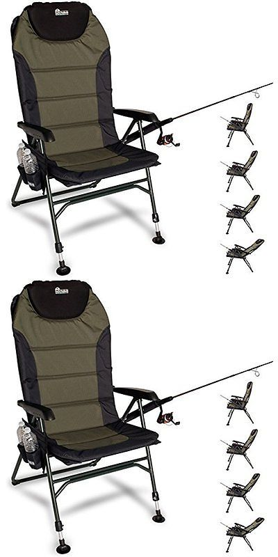fishing chair ebay gray lounge chairs and seats 19985 earth products ultimate outdoor adjustable with