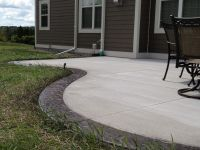 Beautiful Colors Stained Concrete Patio Design Ideas ...