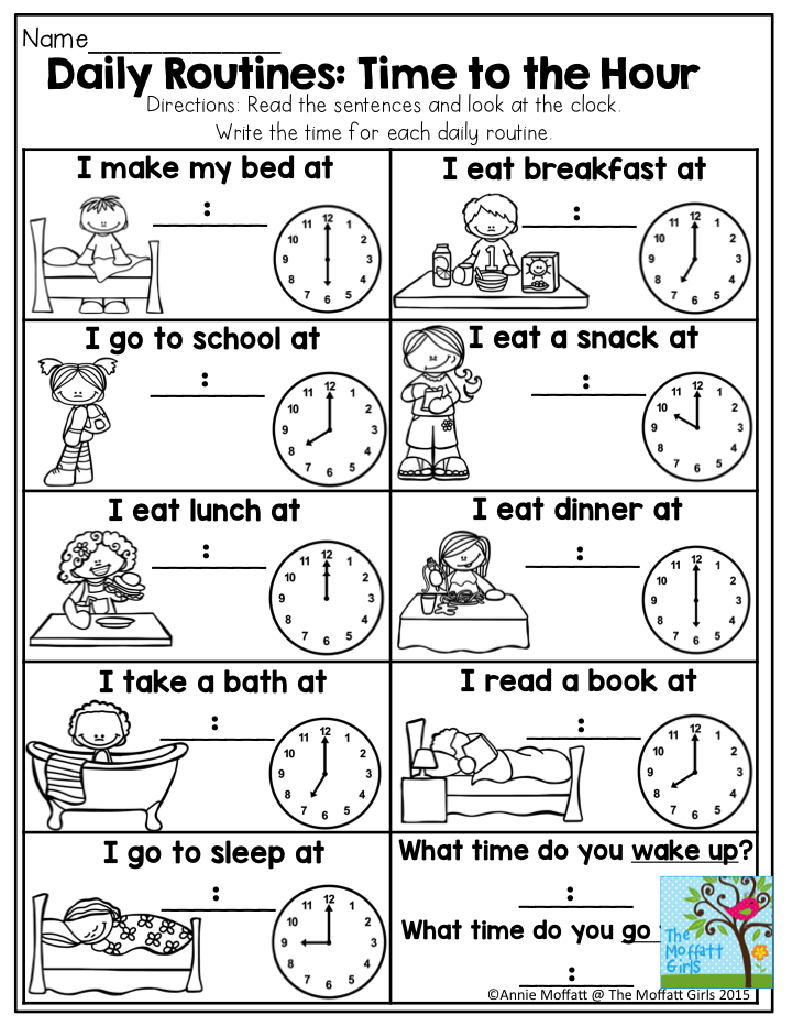 childs daily activities - 720×932