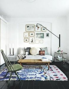 Rugs that totally make the room also best images about boucherouite on pinterest apartment rh