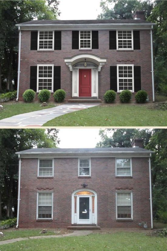 Curb Appeal 8 Stunning Before & After Home Updates Curb Appeal
