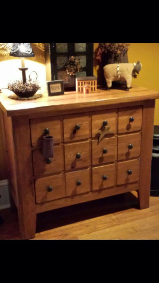 I love my Broyhill Attic Heirlooms Apothecary Chest