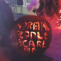 American Horror Story Pumpkin Carving