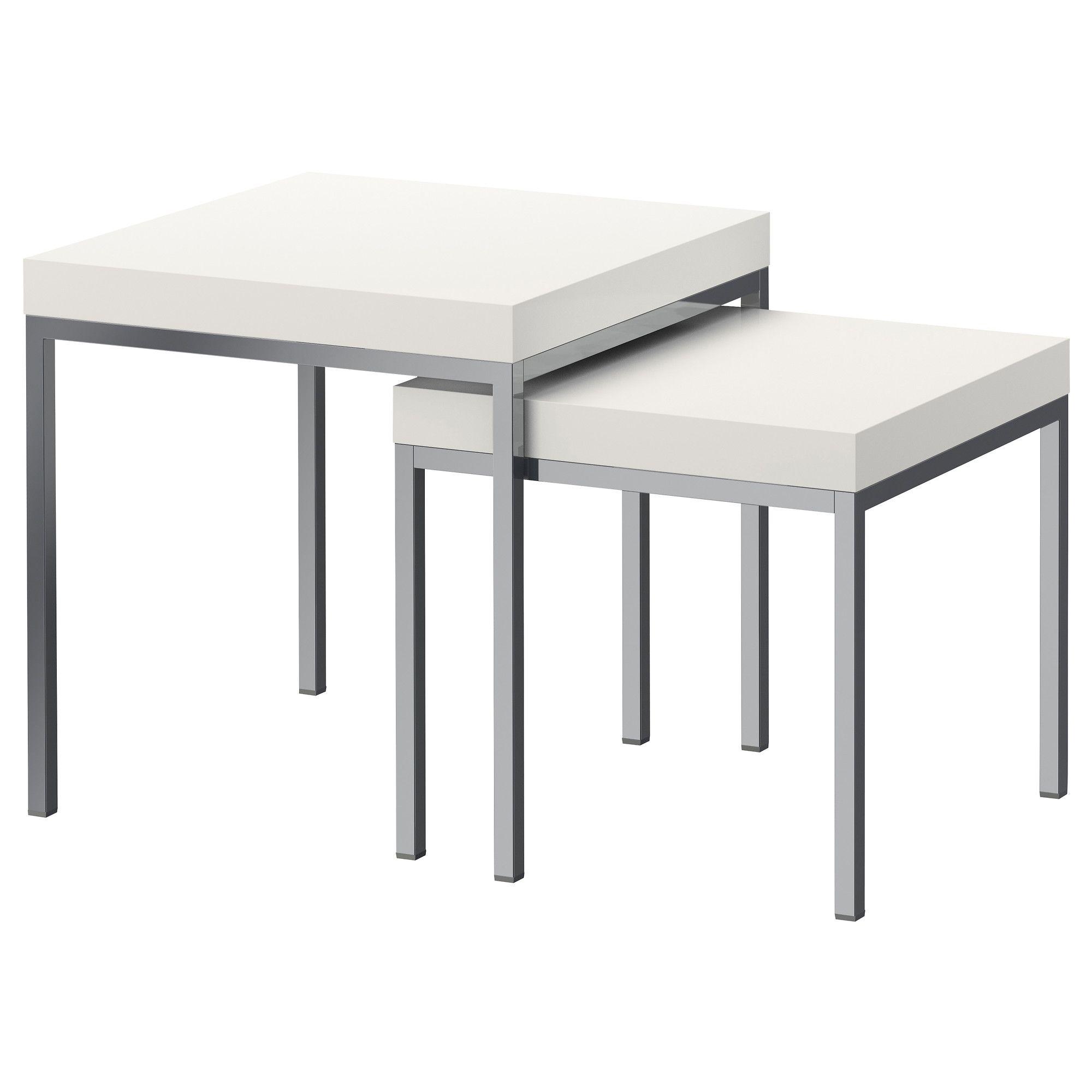 KLUBBO Nest of tables, set of 2