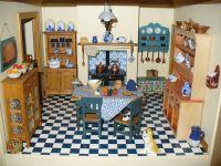 Victorian Dollhouses   victorian dollhouse kitchen ...