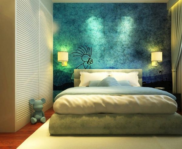 Bedroom Wall Painting Ideas Painting Ideas For Interior