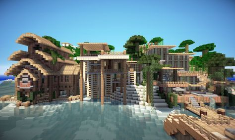 Jungle House On World Of Keralis Minecraft Project Minecraft