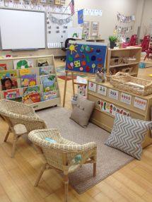Preschool Reading Corner Ideas
