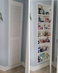 Full Size Medicine Cabinet Storage Idea | Cabinet storage ...