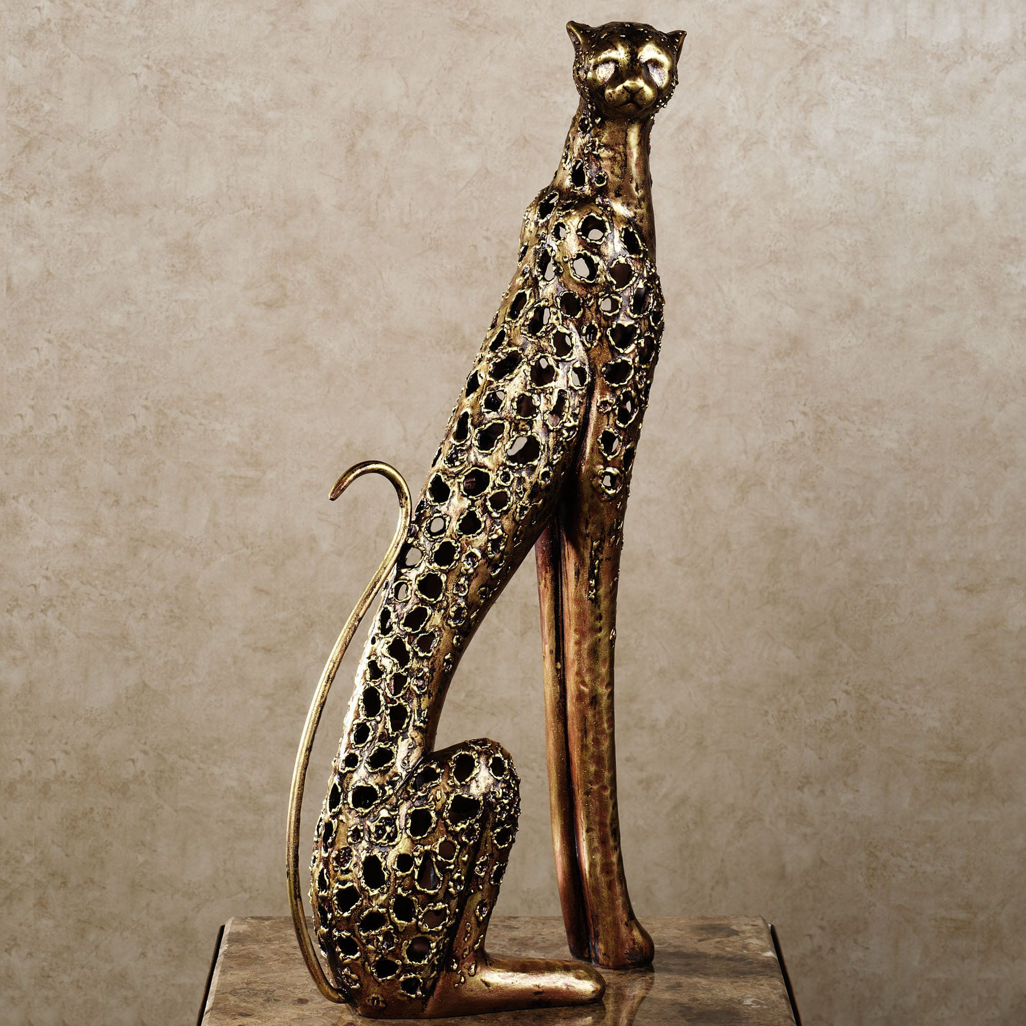 Wild elegance cheetah sculpture also cheetahs and bedrooms rh pinterest
