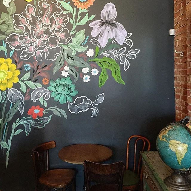 I love this chalkboard wall that @jgdn shared in #