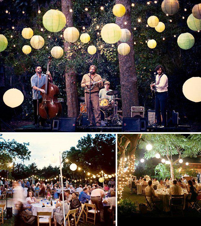 Backyard Wedding Ideas Perfect Backyard Theme Menu And Music