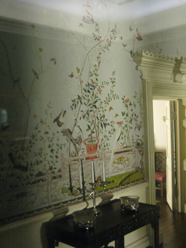 Chinoiserie Painted Wall Murals