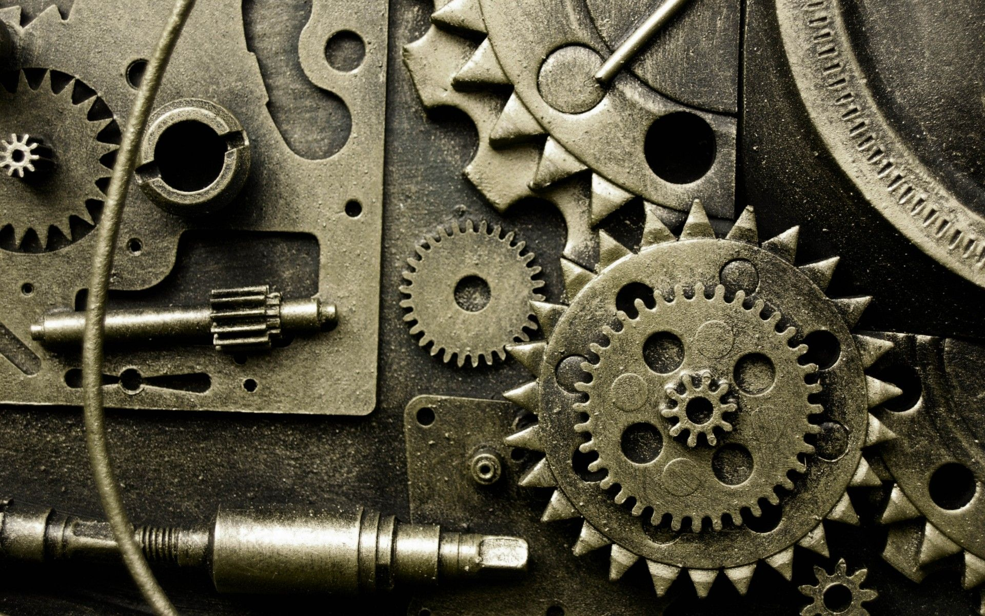 metal gears abstract machine pattern wallpaper | 1920x1200 | 53094