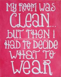 sayings on canvas   Quote Canvas Painting 8x10 Pink Wall ...