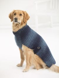 New! Sweaters for BIG dogs! Make our Asta Dog Sweater with ...