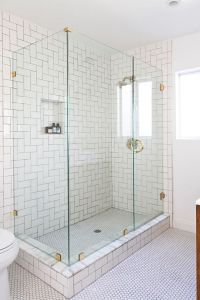 White 3X6 Glass Subway Tile | Subway tiles and Tile patterns