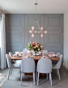 Creative diy wall treatments also gray walls and room rh pinterest