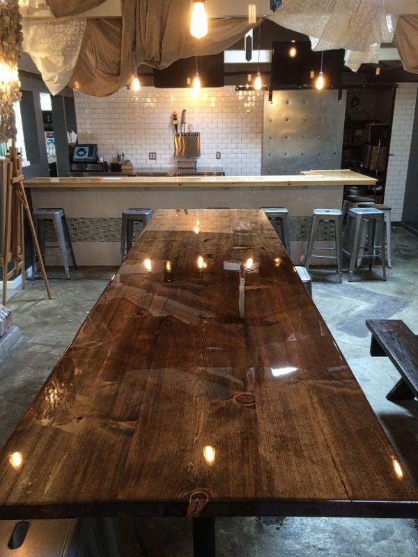 Coffee Table Wood Top