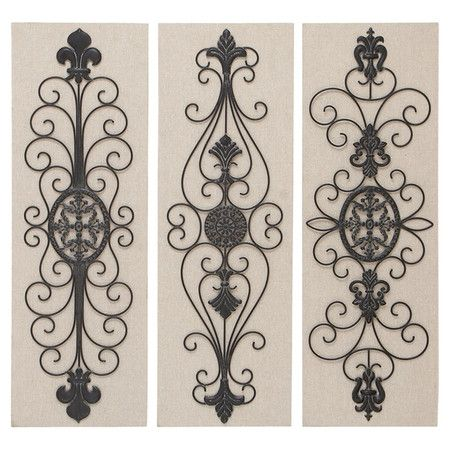 Crafted from metal and showcasing  scrollwork design also this elegant rh pinterest