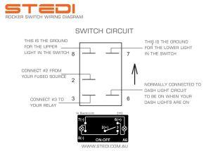 Rocker Switch Diagram | 4 x 4 | Pinterest | Rockers