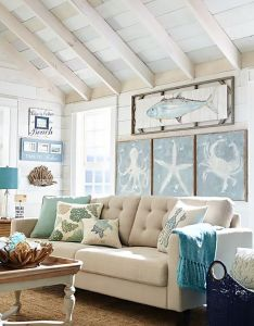 design tips for  beautiful beach themed home marilenstyles also rh uk pinterest