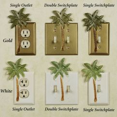 Palm Tree Kitchen Decor Tables With Chairs Bathroom Tropical Theme