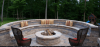 Fire pit needs a swing   Future Home   Pinterest   Outdoor ...