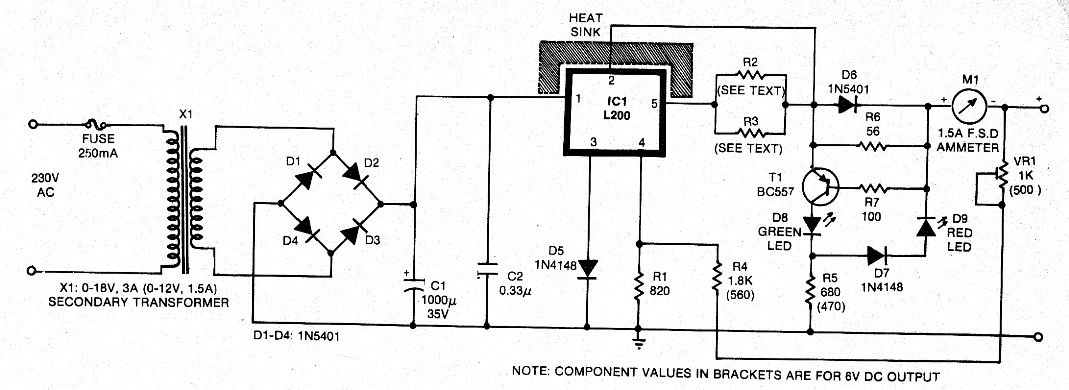 6v 12v Battery Charger Transformer Wiring Diagram : 49