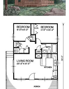 Tiny house plan total living area sq ft bedroom floor also bedrooms rh pinterest