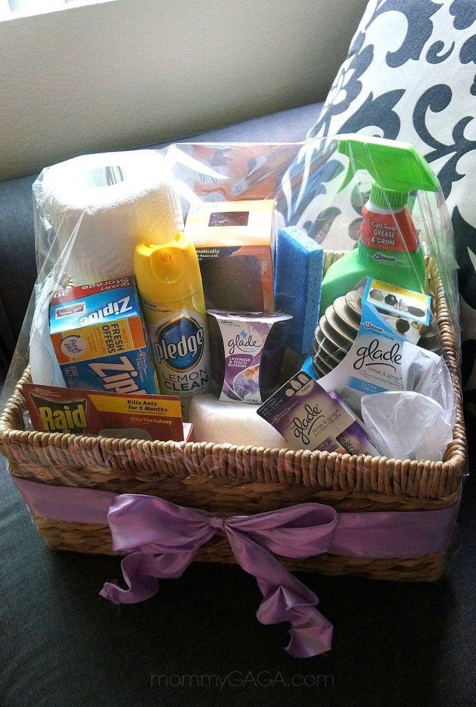 Housewarming Gift Ideas DIY Home Essentials Gift Basket Basket