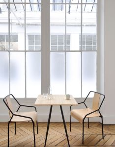 The soho high square table is  sleek and practical occasional designed by in house design team at coedition top rests on four also chaise dao shin azumi for yellowtrace    furniture rh pinterest
