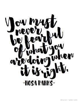 Words From Wise Women {FREE Printable Quote Posters} Rosa