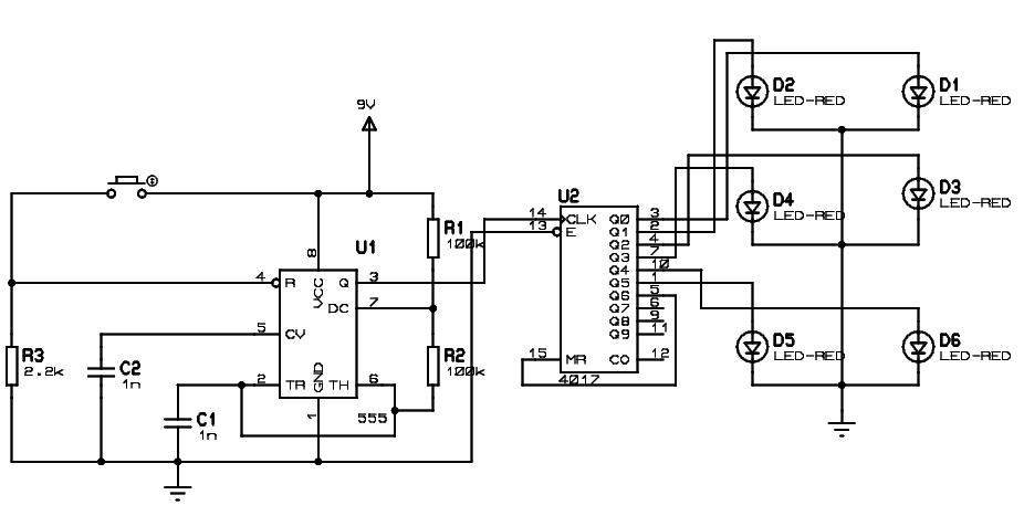 using 555 timer circuit diagrams
