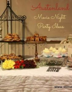 also party ideas for an austenland movie night at home rh za pinterest