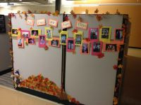 Fall cubicle decorating contest