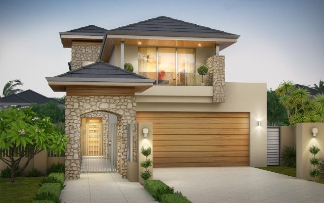 Narrow Block House Design Ideas – Beautiful Home With Limited