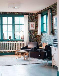 Turquoise window trim also painted pinterest rh
