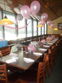Baby Shower at a restaurant