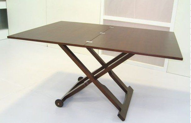 Making a DIY Collapsible Kitchen Table  apartment