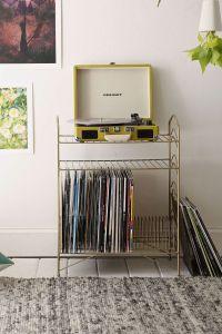 Interior Design Stories: Vinyl Record Storage Shelf ...