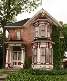 Small Old Victorian House