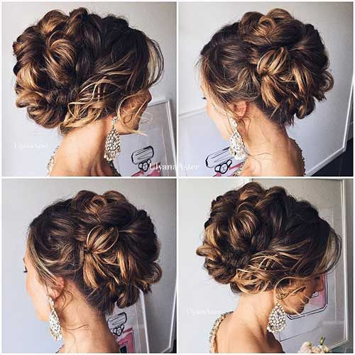 Prom Updo Hairstyle For Long Hair Hairstyles Pinterest 25